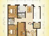 上风上水领地_3室2厅2卫 建面128平米