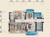 佳兆业时代可园_3室2厅2卫 建面115平米
