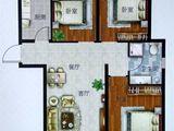 太阳城_3室2厅1卫 建面90平米