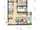 坤杰拉菲公馆_2室2厅1卫 建面71平米