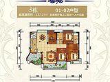 大福名城_4室2厅2卫 建面137平米