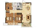 奥兰和园_3室2厅1卫 建面101平米