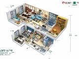 名门翠园_4室2厅2卫 建面65平米