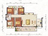 中泰峰境_4室2厅2卫 建面123平米