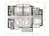 万象连城_3室2厅2卫 建面97平米