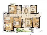 新城玺樾门第_4室2厅2卫 建面121平米