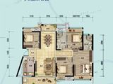 奥林匹克花园5期_4室2厅2卫 建面134平米