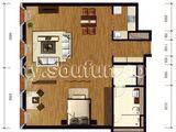 万国城moma_1室2厅1卫 建面102平米