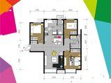 富力新城_3室2厅1卫 建面102平米