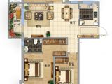 固安阿尔卡迪亚_3室2厅2卫 建面122平米