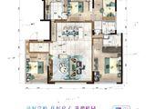 碧桂园星作_4室2厅2卫 建面142平米